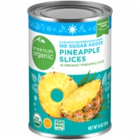 Simple Truth Organic™ Sliced Pineapple in 100% Juice
