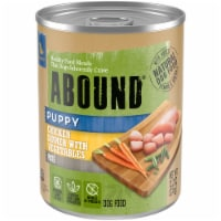 Abound Chicken Dinner with Vegetables Pate Puppy Food