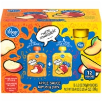 Kroger® Classic & Peach Mango Apple Sauce Variety Pack 12 Count