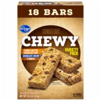 Kroger® Chewy Granola Bars Variety Pack - 18 ct / 0.84 oz