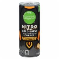 Simple Truth Organic™ Nitro Black Cold Brew Coffee