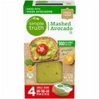 Simple Truth™ Mashed Avocado Single Serve On-The-Go Packs