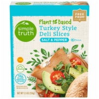 Simple Truth™ Plant-Based Salt & Pepper Turkey Style Deli Slices Box