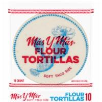 Mas y Mas™ Soft Taco Size Flour Tortillas