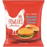 Mr. Fowler's® Breaded Chicken Patties