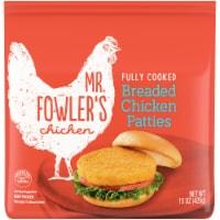 Mr. Fowler's™ Breaded Chicken Patties