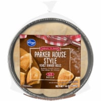 Kroger® Ready to Bake Parker House Style Yeast Dinner Rolls 15 Count