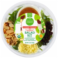 Simple Truth Organic™ Almond Cheddar with Apple Cider Dijon Vinaigrette Salad Kit