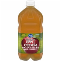 Kroger® 100% Apple Cider From Concentrate Juice No Sugar Added Bottle