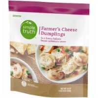 Simple Truth™ Farmer's Cheese Stuffed Dumplings with Grana Padano Bacon Carbonara Sauce