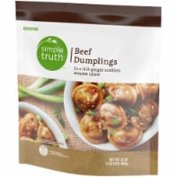 Simple Truth™ Beef Dumplings with Ginger Scallion Sesame Sauce