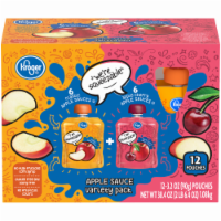 Kroger® Classic & Apple Cherry Flavored Applesauce
