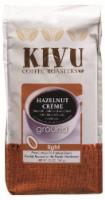 Kivu Hazelnut Creme Light Roast Ground Coffee - 12 oz