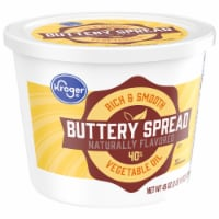 Kroger® 40% Vegetable Oil Buttery Spread Tub
