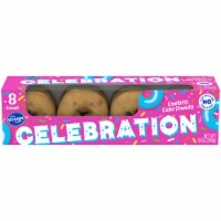 Kroger® Celebration Confetti Cake Donuts 8 Count