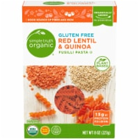 Simple Truth Organic™ Gluten Free Red Lentil & Quinoa Fusilli Pasta