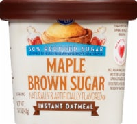 Kroger® Reduced Sugar Maple Brown Sugar Instant Oatmeal Cup