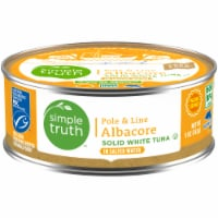 Simple Truth™ Pole & Line Albacore White Tuna in Salted Water