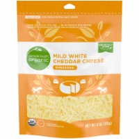 Simple Truth Organic™ Shredded White Mild Cheddar Cheese Pouch