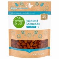 Simple Truth™ Sea Salt Roasted Almonds Pouch