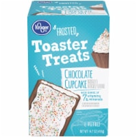 Kroger® Frosted Chocolate Cupcake Toaster Treats Pastries 8 Count
