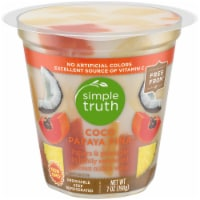 Simple Truth™ Coco Papaya Pina Fruit Cup - 7 oz