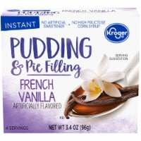 Kroger® Instant French Vanilla Pudding & Pie Filling - 3.4 oz
