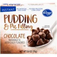 Kroger Chocolate Instant Pudding Mix - 3.9 oz