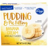 Kroger® Banana Cream Pudding & Pie Filling - 3.4 oz