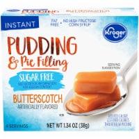 Kroger Sugar Free Butterscotch Instant Pudding Mix