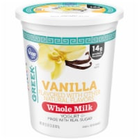 Kroger® Whole Milk Vanilla Greek Yogurt