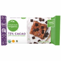Simple Truth Organic® 72% Cacao Dark Chocolate Chunks