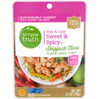 Simple Truth™ Pole & Line Sweet & Spicy Skipjack Tuna Pouch