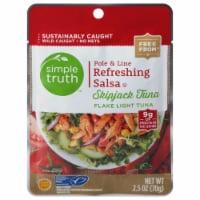 Simple Truth™ Pole & Line Refreshing Salsa Skipjack Tuna Pouch