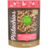 Simple Truth™ Pink Himalayan Salt & Pepper Pistachios Pouch