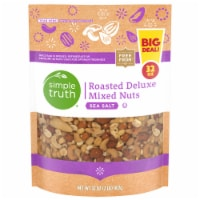 Simple Truth™ Sea Salt Roasted Deluxe Mixed Nuts Pouch