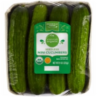 Simple Truth Organic™ Seedless Mini Cucumbers