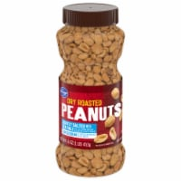 Kroger® Low Sodium Lightly Salted Dry Roasted Peanuts