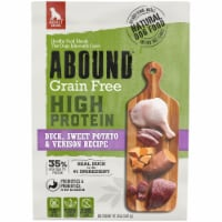 Abound® Grain Free High Protein Duck Sweet Potato & Venison Recipe Dry Dog Food