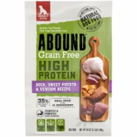 Abound Grain Free High Protein Duck Sweet Potato & Venison Recipe Dry Adult Dog Food