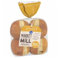 Kroger® Market & Mill Artisan Style Rustic Potato Hamburger Buns 8 Count