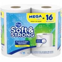 Kroger® Soft & Strong Mega Roll Bathroom Tissue
