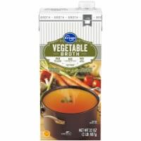 Kroger® Fat Free Vegetable Broth - 32 oz