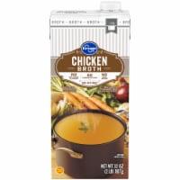 Kroger® 99% Fat Free Chicken Broth - 32 oz