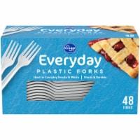 Kroger® Everyday Plastic Forks - White