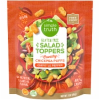 Simple Truth™ Gluten Free Chipotle Pepper Chickpea Puffs Salad Toppers - 3 oz