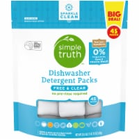 Simple Truth™ Free & Clear Dishwasher Detergent Packs 45 Count