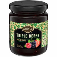 Private Selection® Triple Berry Preserves - 11 oz