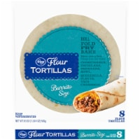 Kroger® Burrito Size Flour Tortillas 8 Count