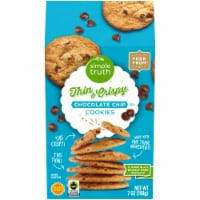 Simple Truth™ Chocolate Chip Thin and Crispy Cookies - 7 oz
